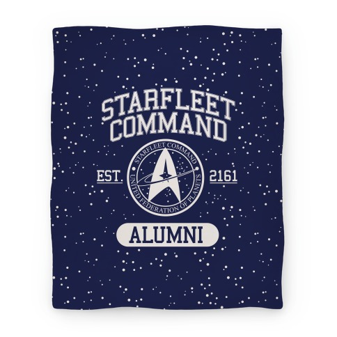 Star Fleet Alumni Blanket