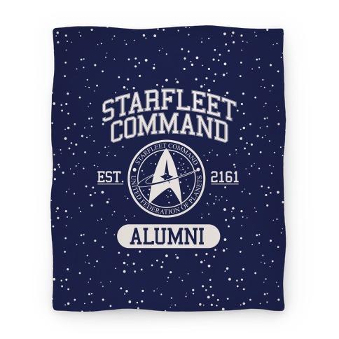 Star Fleet Alumni Blanket
