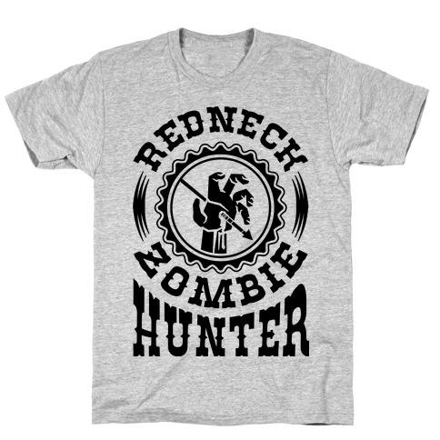 Redneck Zombie Hunter Mens T-Shirt