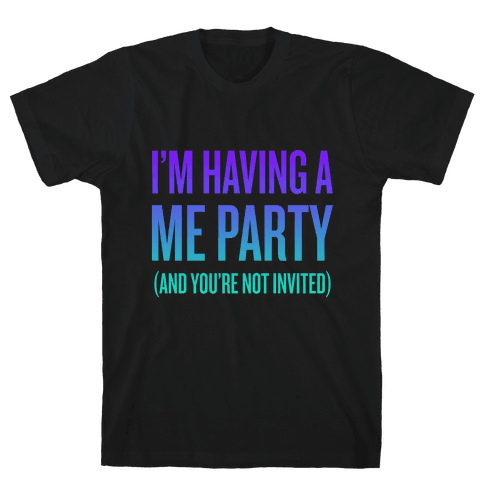 Me Party Mens T-Shirt