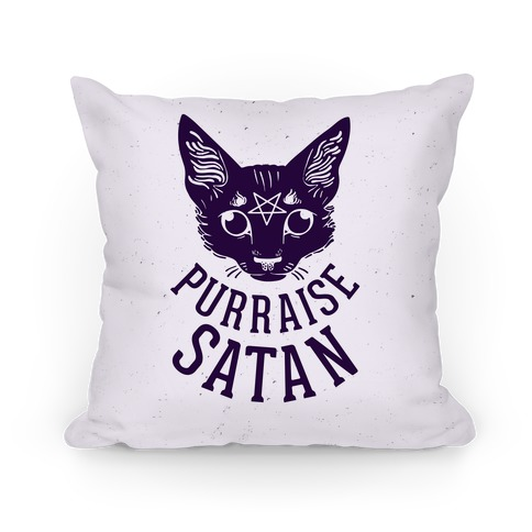Purraise Satan Pillow