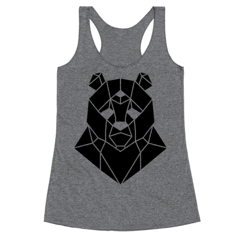 The Bear Sees All Racerback Tank Top