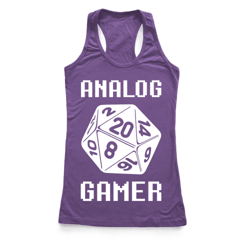 Analog Gamer Racerback Tank Top