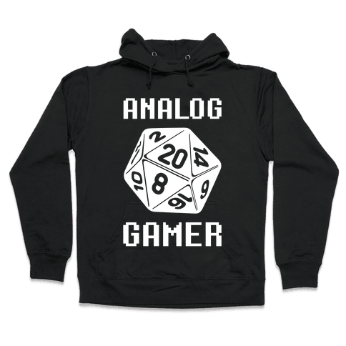 Analog Gamer Hooded Sweatshirt