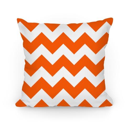 Chevron Pillow (Tangerine) Pillow