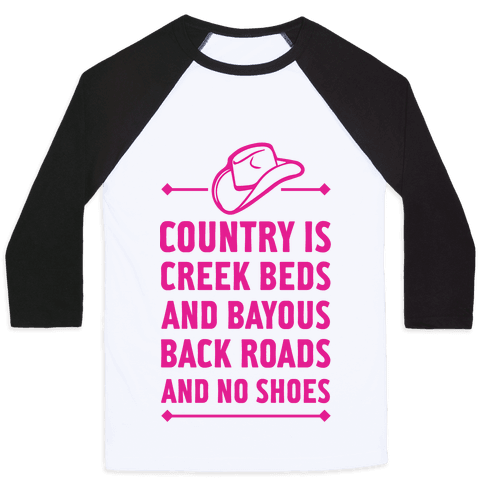 Country Is Baseball Tee