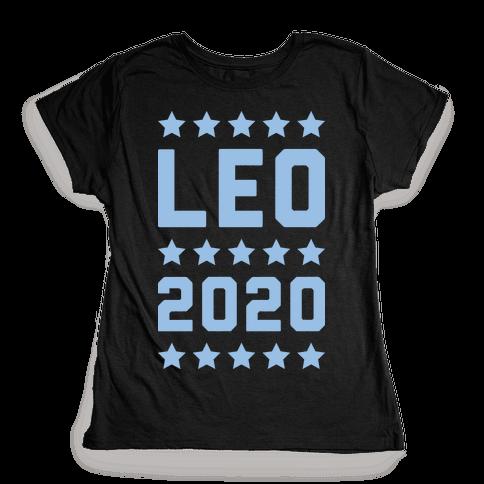 Vote Leo 2020 Parody Womens T-Shirt