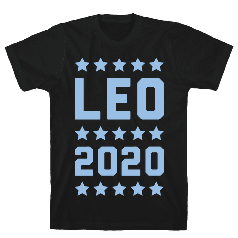 Vote Leo 2020 Parody Mens T-Shirt