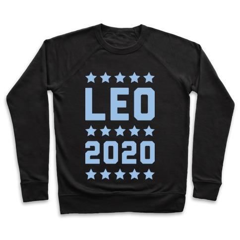 Vote Leo 2020 Parody Pullover