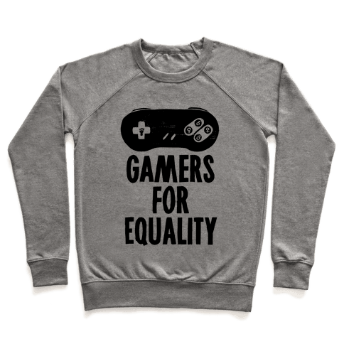 Gamers For Equality Pullover