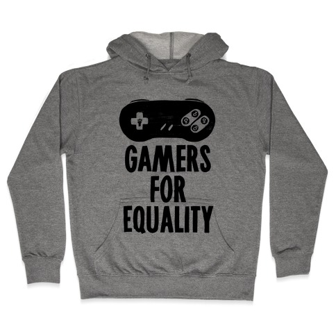 Gamers For Equality Hooded Sweatshirt