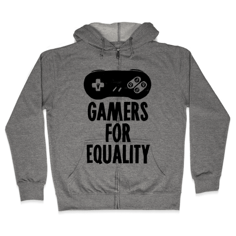 Gamers For Equality Zip Hoodie