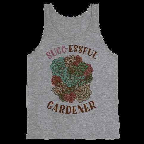 Succ-essful Gardener Tank Top
