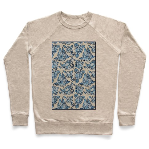 Floral Penis Pattern Pullover