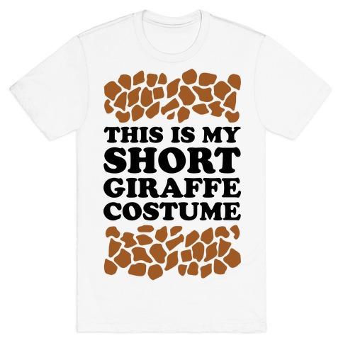 Short Giraffe Costume T-Shirt