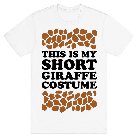 Short Giraffe Costume T-Shirt