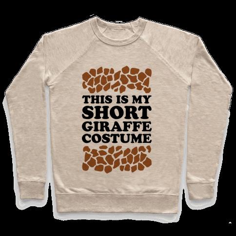 Short Giraffe Costume Pullover