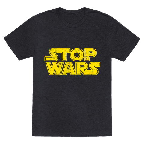 Stop Wars (Dark Print)