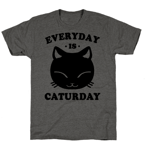 Everyday Is Caturday Mens T-Shirt