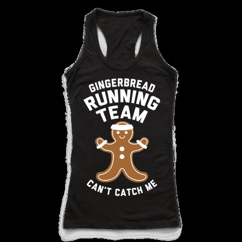 Gingerbread Running Team (White Ink)
