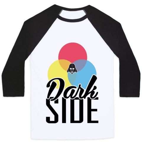 Dark Side Baseball Tee