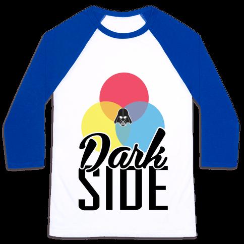 Dark Side Baseball Tee