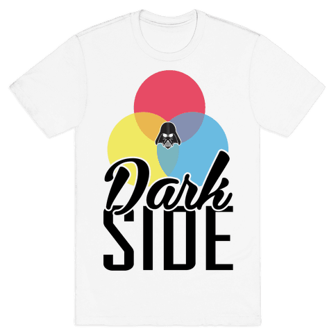 Dark Side Mens T-Shirt