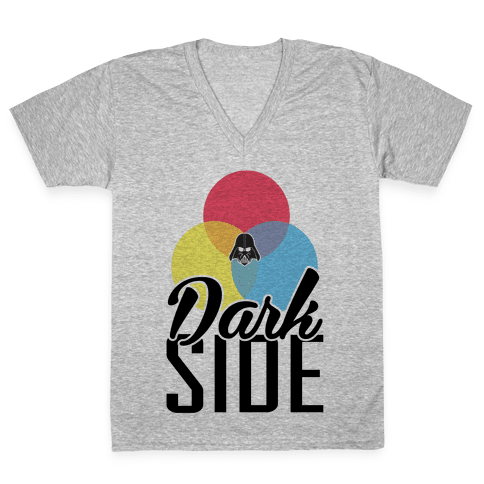 Dark Side V-Neck Tee Shirt