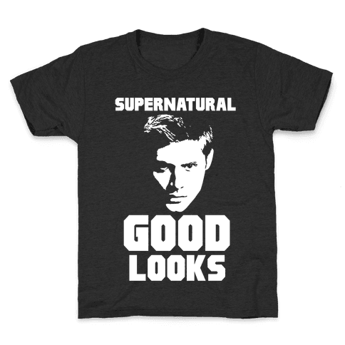 Supernatural Good Looks Kids T-Shirt