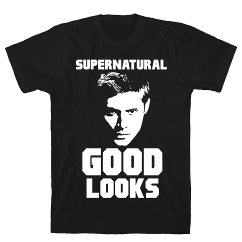 Supernatural Good Looks Mens T-Shirt