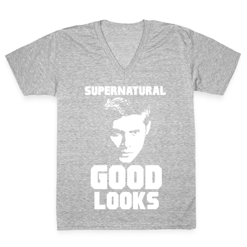 Supernatural Good Looks V-Neck Tee Shirt