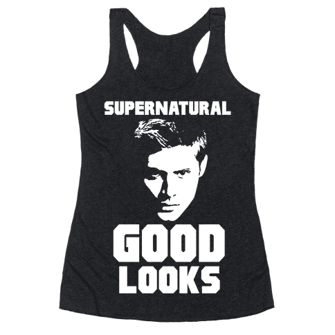 Supernatural Good Looks Racerback Tank Top
