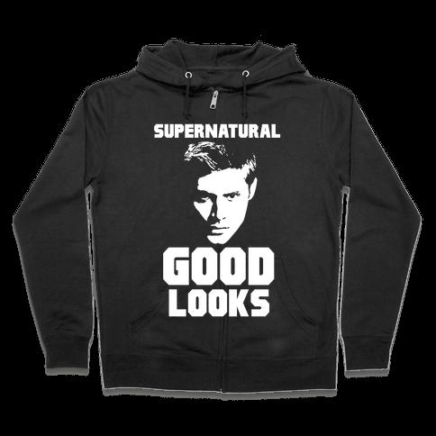 Supernatural Good Looks Zip Hoodie