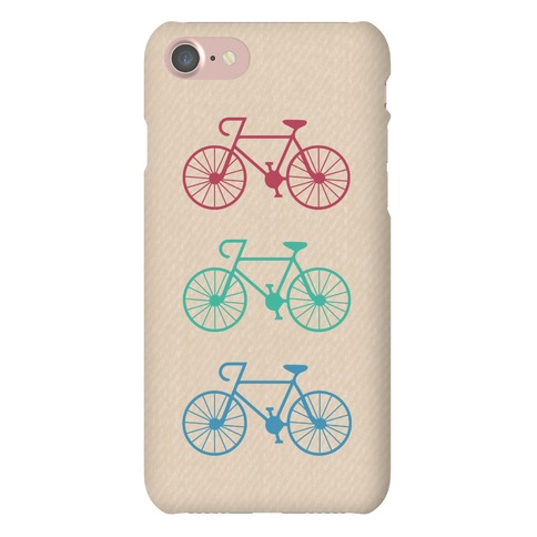 Three Bikes Phone Case