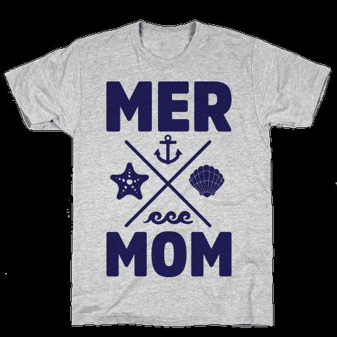 Mermom Mens T-Shirt