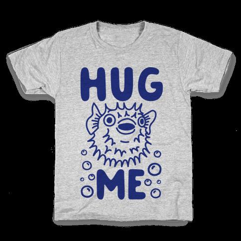 Hug Me Puffer Fish Kids T-Shirt