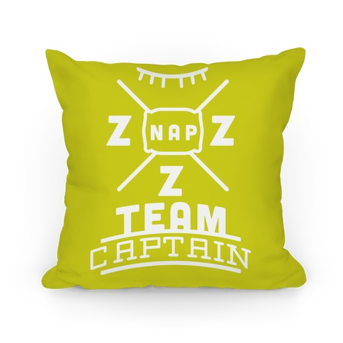 Nap Team Captain Pillow