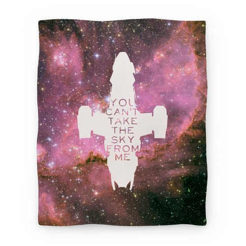 You Can't Take The Sky From Me Blanket