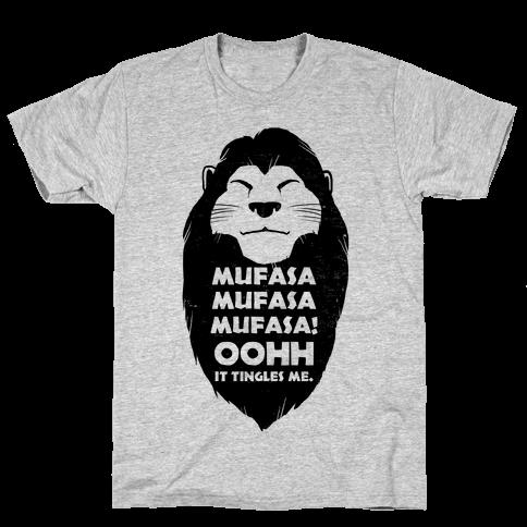 Mufasa Mufasa Mufasa! Mens T-Shirt