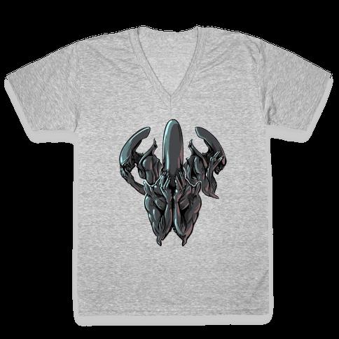 Hear No Evil, Speak No Evil, See No Evil V-Neck Tee Shirt