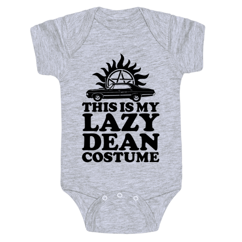 Lazy Dean Costume Baby Onesy