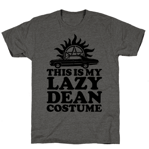 Lazy Dean Costume Mens T-Shirt