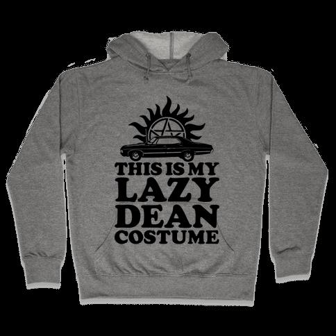 Lazy Dean Costume Hooded Sweatshirt