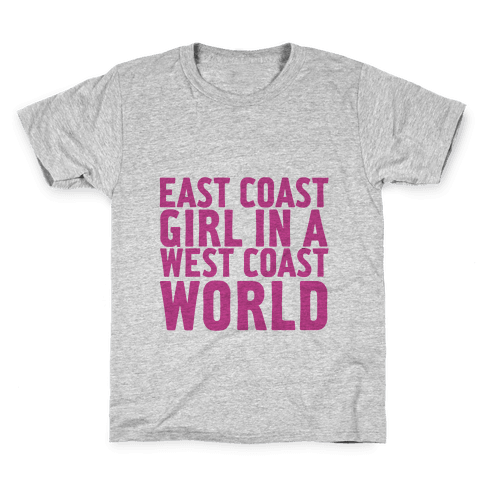 West Coast World Kids T-Shirt
