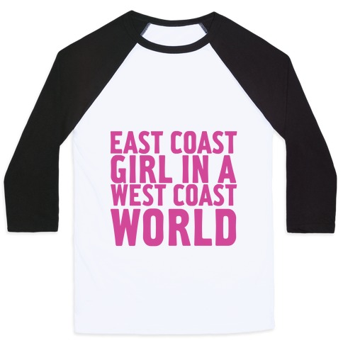 West Coast World Baseball Tee