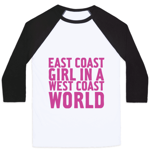 West Coast World Baseball Tee