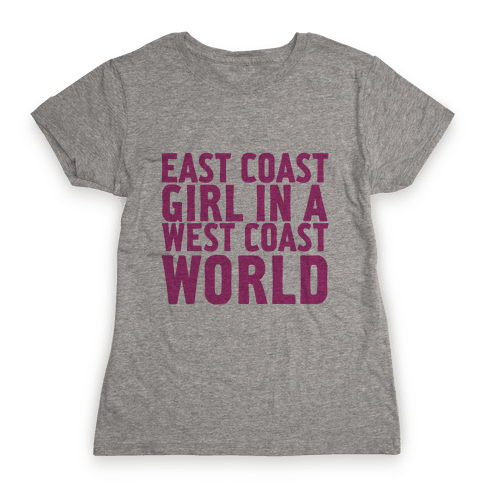West Coast World Womens T-Shirt