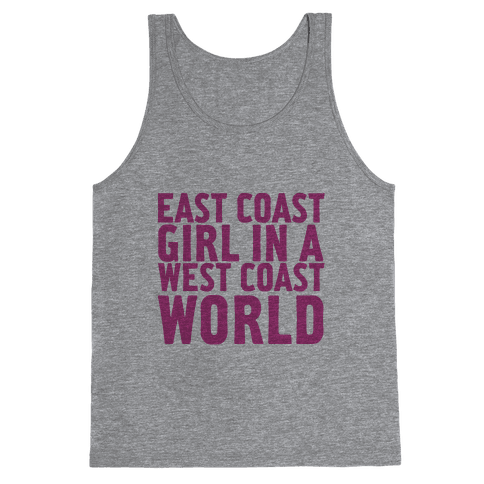 West Coast World Tank Top