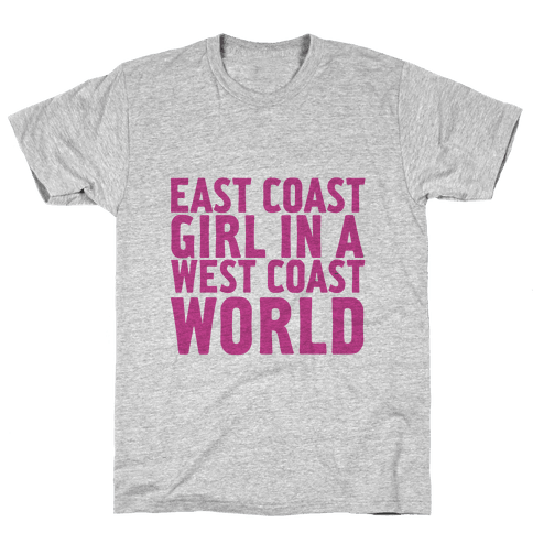 West Coast World Mens T-Shirt