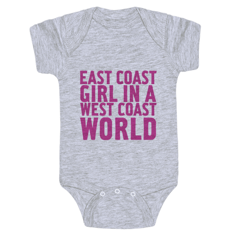 West Coast World Baby Onesy